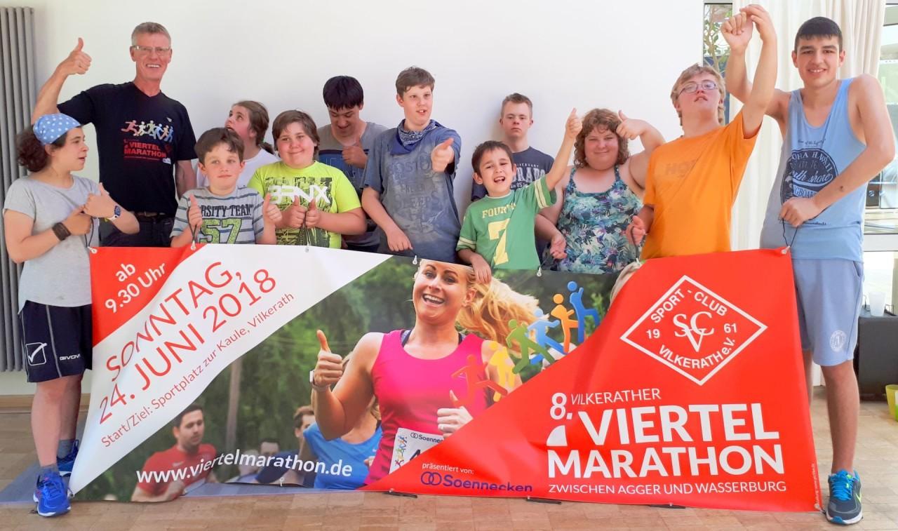 Gruppenfoto mit Paraläufern