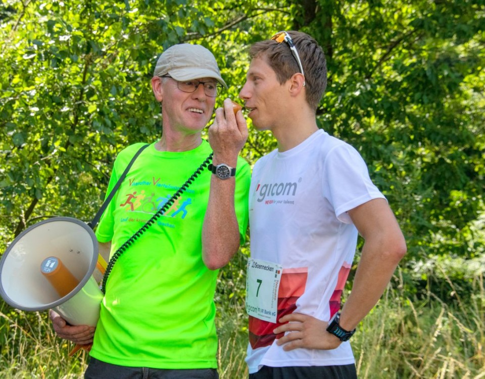 9. Vilkerather Viertelmarathon 2019 - Justus Nieschlag - Interview 1 web