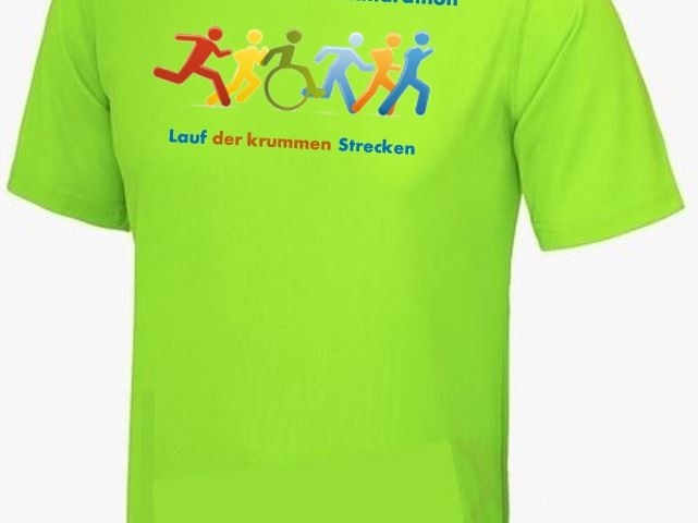 VVM-Laufshirt 2019 - electric green mit Logo